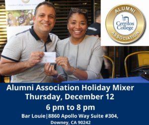 Alumni Association Holiday Mixer @ Bar Louie   Downey   California   United States